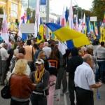 Мітинг опозиції на День незалежності